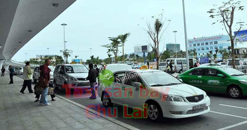 Xe taxi sân bay Chu Lai Núi Thành
